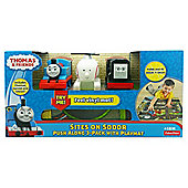 Thomas & Friends Sites On Sodor 3-Pack with Playmat