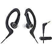 Audio-Technica ATH-SPORT1 SonicSport In-ear Headphones (Black)