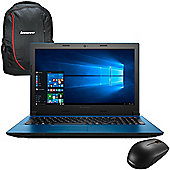 "Lenovo Ideapad 305 - 80NJ00R1UK - 15.6"" Laptop Intel Pentium 3825U 8GB 1TB Win 10 with Backpack Case and Mouse"