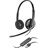 Plantronics Blackwire C320 Wired Stereo Headset - Over-the-head - Supra-aural