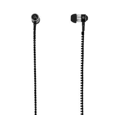 MiTEC Zipper Earphones Black
