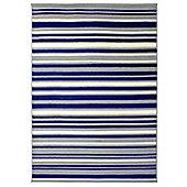 Element Canterbury Blue & Grey Runner - 60x220cm