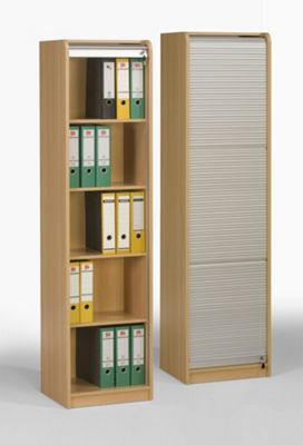 Maja-Möbel Rolling Shutter Shelves - Beech
