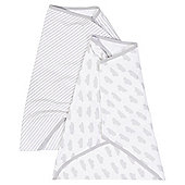 Weather Printed 2 pack baby Swaddle