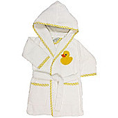 Children's Bathrobe 3-4yrs- Yellow Duck