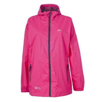 Trespass Qikpac Packaway Jacket XXL Cerise pink