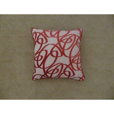 Mason Gray Beckley Red Cushion Cover - 43x43cm