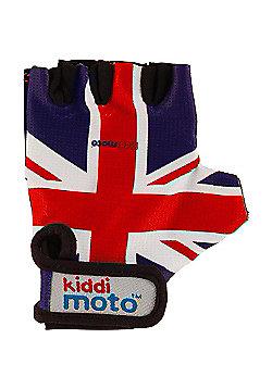 Kiddimoto Gloves Union Jack (Medium)