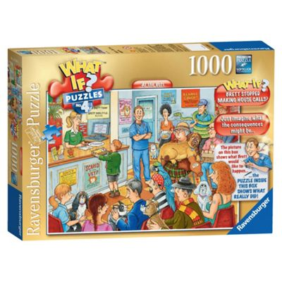 Ravensburger What If? At the Vets 1000-Piece Jigsaw Puzzle