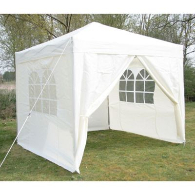 Airwave Pop Up Gazebo Fully Waterproof 2.5x2.5m in Cream