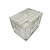"""Ellie-Bo 48"""" XXL Deluxe Dog Cage Puppy Crate In Gold"""