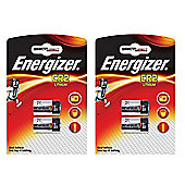 4 x Energizer CR2 3v Lithium Photo Battery DLCR2