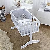 Clair de Lune 2pc Crib Bedding Set (Barley Bebe Grey)