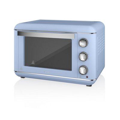 Swan 23L Retro Electric Oven- Blue