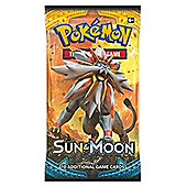 Pokemon: Sun & Moon 1 Sealed Booster Pack - Sun and Moon Trading Cards for 2017