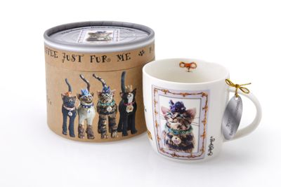 Royal Furmily Pawtraits Purrince Eaton de Mousen Cat Mug