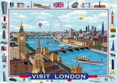 Visit London - 1000pc Puzzle