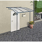 Palram Door Cover Canopy Vega 2000 Grey Clear
