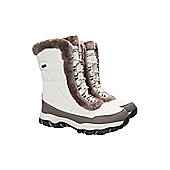 Mountain Warehouse Ohio Womens Snow Boot - Beige