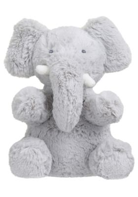 F&F Plush Elephant Toy One Size Grey