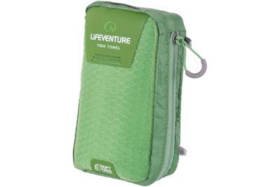 Lifeventure SoftFibre Trek Towel Large Green