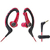 Audio-Technica ATH-SPORT1 SonicSport In-ear Headphones (Red)