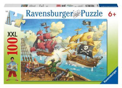 Pirate Battle XXL 100pc Jigsaw Puzzle - Ravensburger