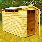 Security Shed 10x6 with Heavy Framing & Apex Roof by Finewood
