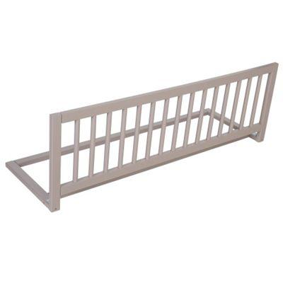 Safetots Wooden Bed Rail Grey