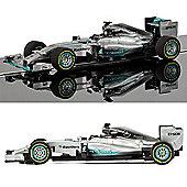 SCALEXTRIC Slot Car C3706 Mercedes F1 2015
