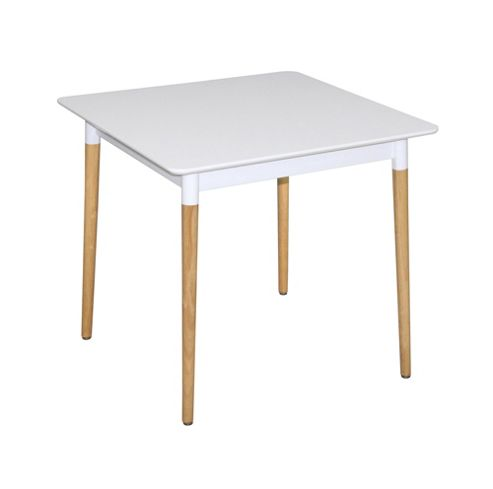 VERSA SQUARE DINING TABLE-WHITE