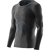 Skins Ry400 Recovery Long Sleeve Top - Black