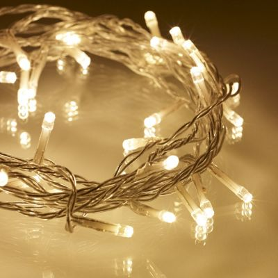 40 warm white led indoor fairy lights