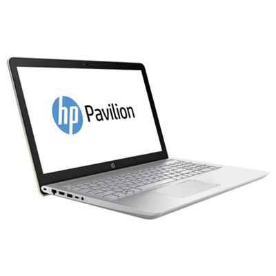 "HP Pavilion 15-CC005NA 15.6"" Intel i3 8GB RAM 1TB HDD DVDRW Laptop – Gold"