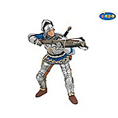 Armoured Crossbowman BLUE - Knights - Papo
