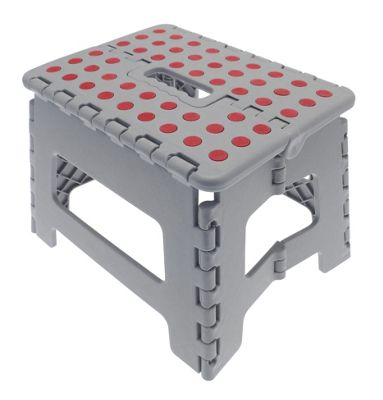 Buy Country Club Folding Step Stool Grey From Our Step