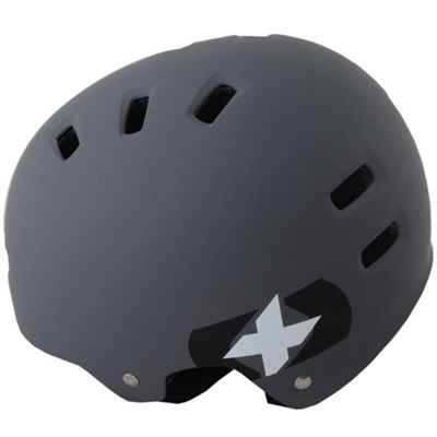 Oxford Urban BMX Helmet│Tough&Protective│Cooling Vents│Bicycle-Bike│53-59cm│Grey