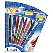 Pilot Frixion With Timetable Asstd 8 pack