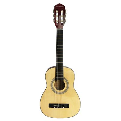Rocket 1/2 Size Classical Spanish Guitar – Natural – with 6 Months Free Online Music Lessons