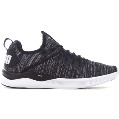 Puma IGNITE Flash evoKNIT Mens Training Trainer Shoe Black - UK 9
