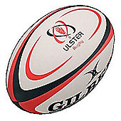 Ulster Midi Rugby Ball - White
