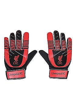 Liverpool FC Goalkeeper Gloves - Black