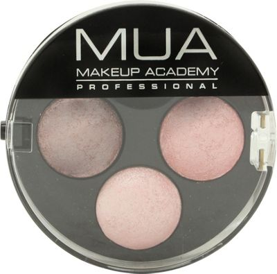 MUA Trio Eyeshadow 6g - Pink Sorbet