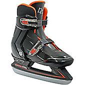 Lake Placid Nitro Boys Adjustable Ice Skates - Black
