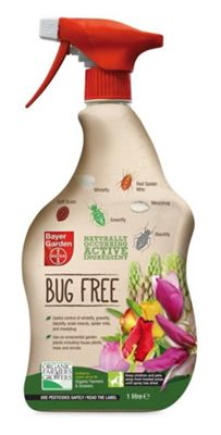 Bayer Garden Organic Natural Bug Killer - 1 Litre