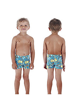 Speedo Sea Squad Infant Boys Imp Aquashorts For Swimming & Leisure - Blue