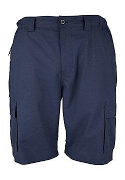 Mountain Warehouse Trek Mens Shorts - Blue