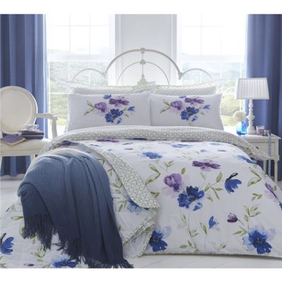 Dreams n Drapes Celestine Blue Single Duvet Cover Set