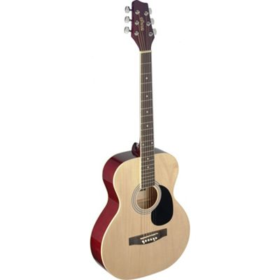 Stagg Full Size Auditorium Acoustic Guitar with Linden Top - Natural