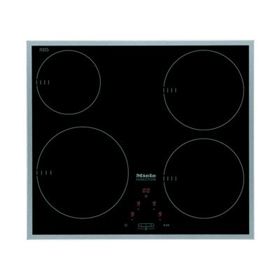 KM6115SS Induction Hob with 9 Power Levels and a Stainless Steel Rim